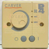Carver P4 Control Panel Sand